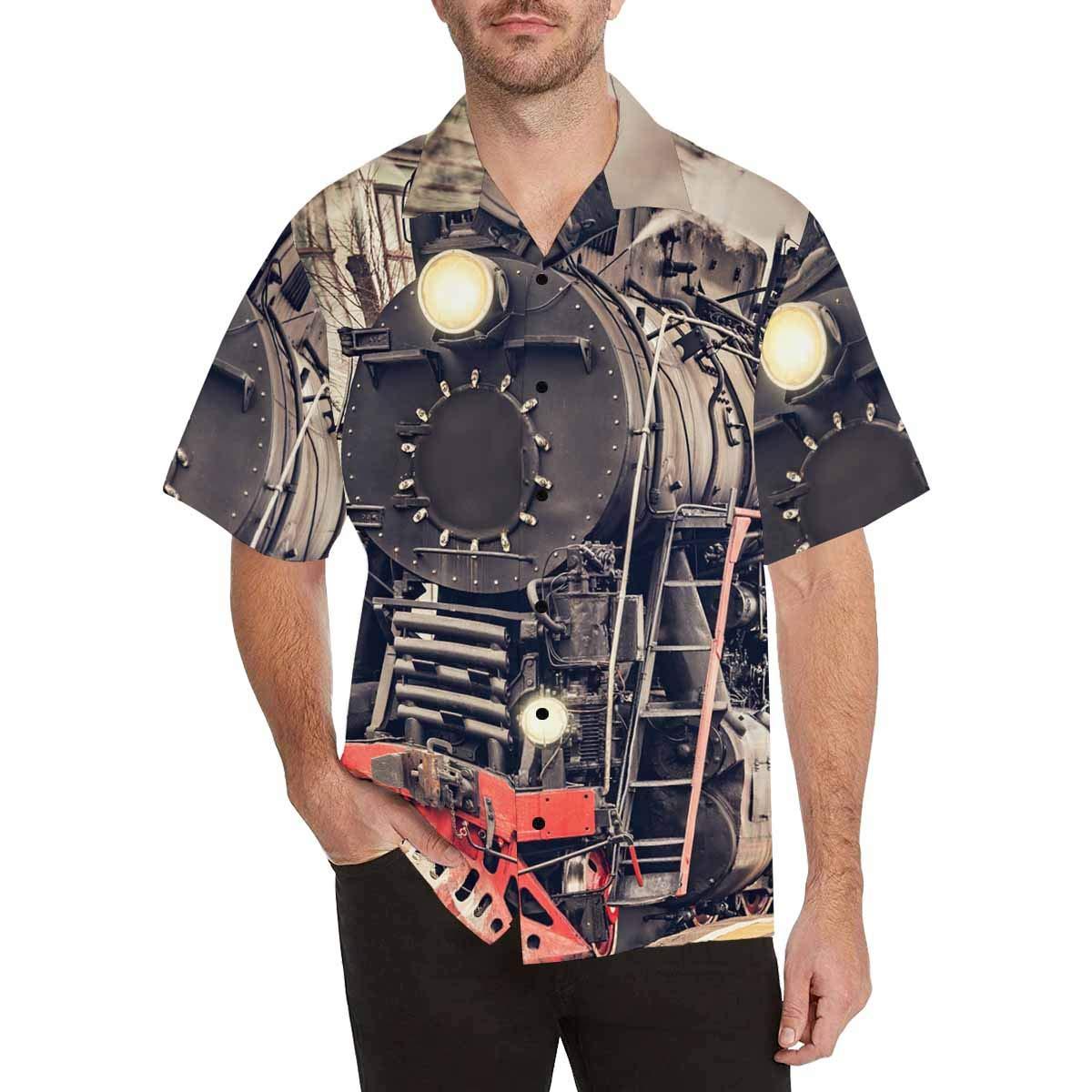 InterestPrint Mens Retro Mustache Tees Tops T-Shirts