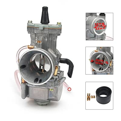 JFG RACING 32MM Super Performance OEM GY6 OKO PWK 32 Power Jet Carburetor Carb 2 Stroke 4 Stroke For Dirt Bike Racing ATV Scooter: Automotive