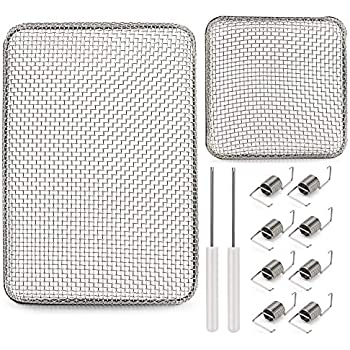 Kohree Flying Insect Screen RV Furnace Screen Vent Cover,RV Bug Screen Covers for Camper Heater Vents,2 Pack