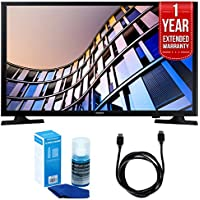 Samsung UN24M4500 23.6 720p Smart LED TV (2017 Model) + 1 Year Extended Warranty + 6ft High Speed HDMI Cable (Black) + Universal Screen Cleaner (Large Bottle) for LED TVs