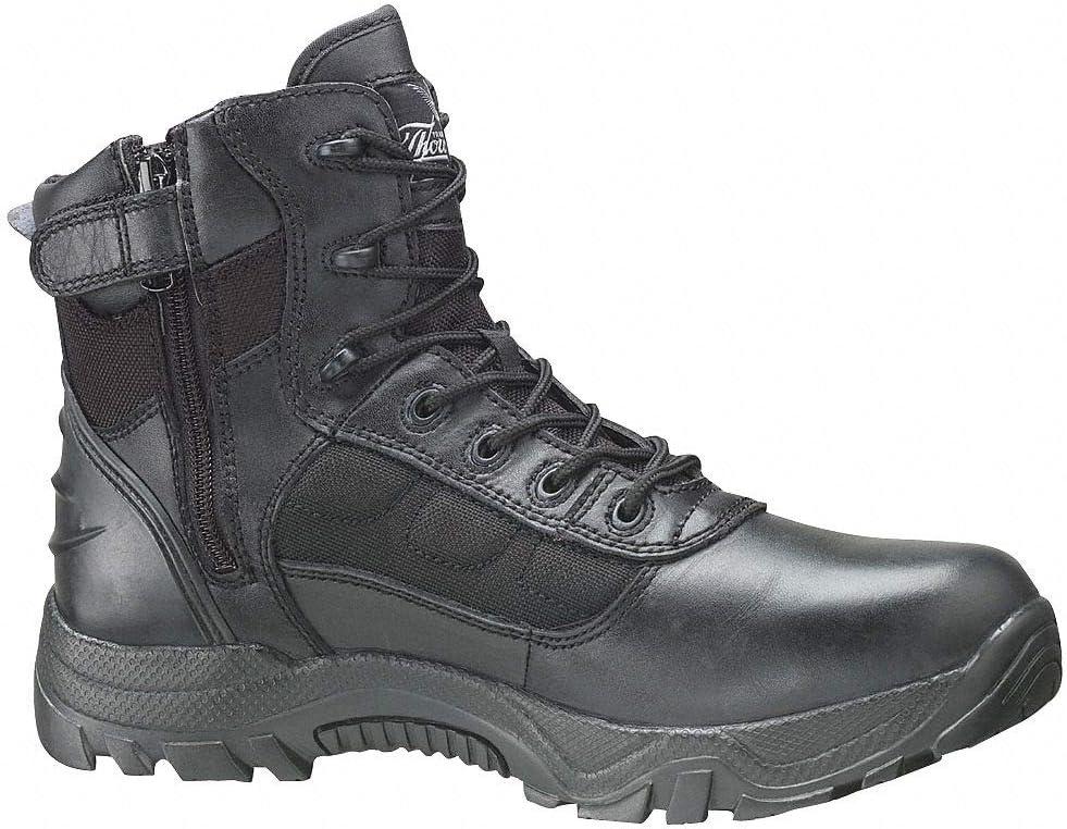 Leather Shoes PR 9 Black Composite Toe