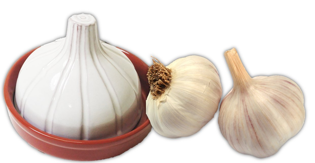 Kitchen Basics Terracotta & Ceramic Garlic Baker Port Style MSP9003
