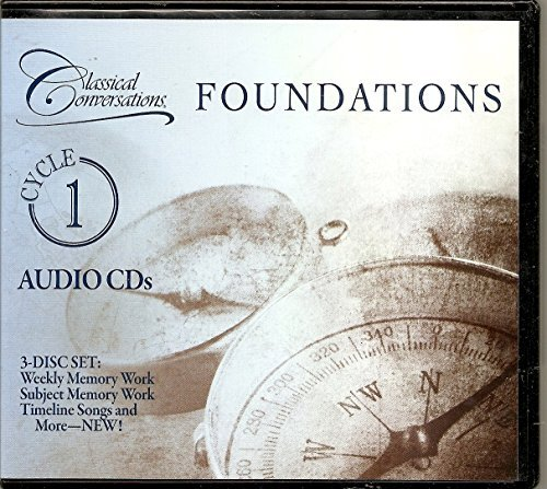 Classical Conversations: Foundations Cycle 1 (Weekly CD, Subject CD, Timeline & More CD)