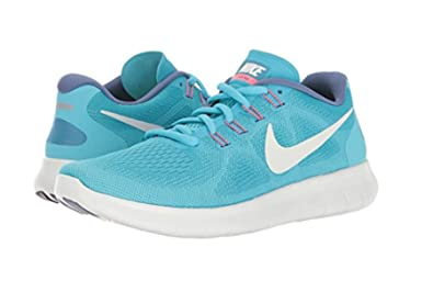 5747a0919c703 Nike Free RN 2017 Chlorine Blue/Off-White/Polarized Blue Women's Running  Shoes