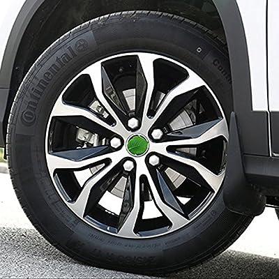 QKPARTS 20 Pcs 17mm Chrome Wheel Lug NUT Bolt Cover CAPS Removal Tool for VW Skoda Audi: Automotive