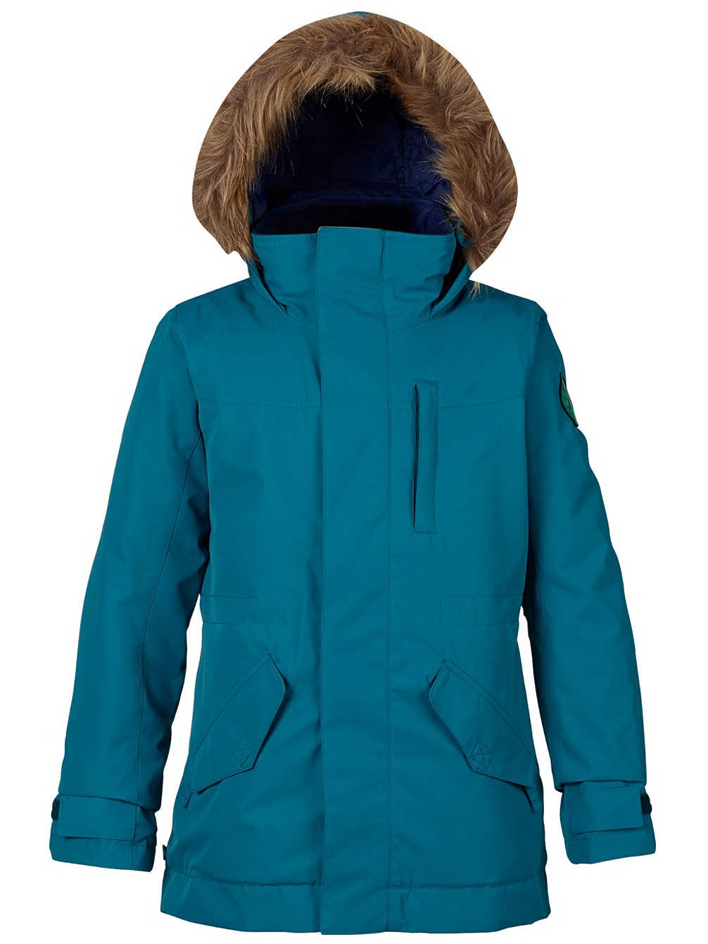 Burton Girls Youth Aubrey Parka Snow Jacket Jaded Size Medium by Burton
