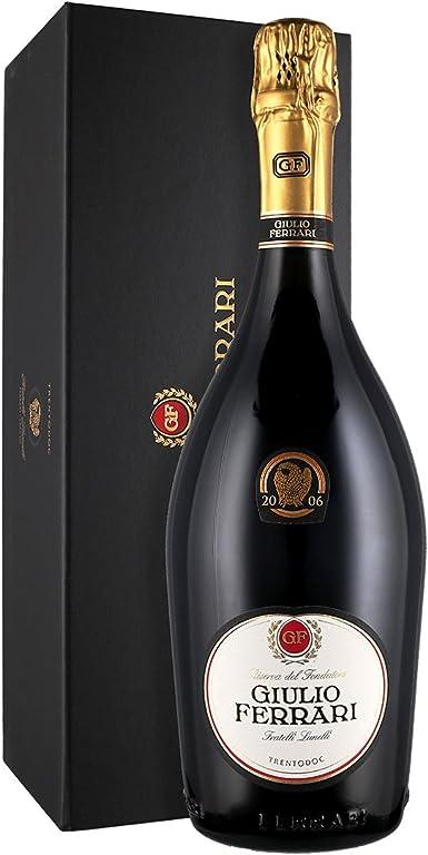 Ferrari Giulio Riserva Del Fondatore 2007 Sekt 1 X 0 75 L Amazon De Bier Wein Spirituosen
