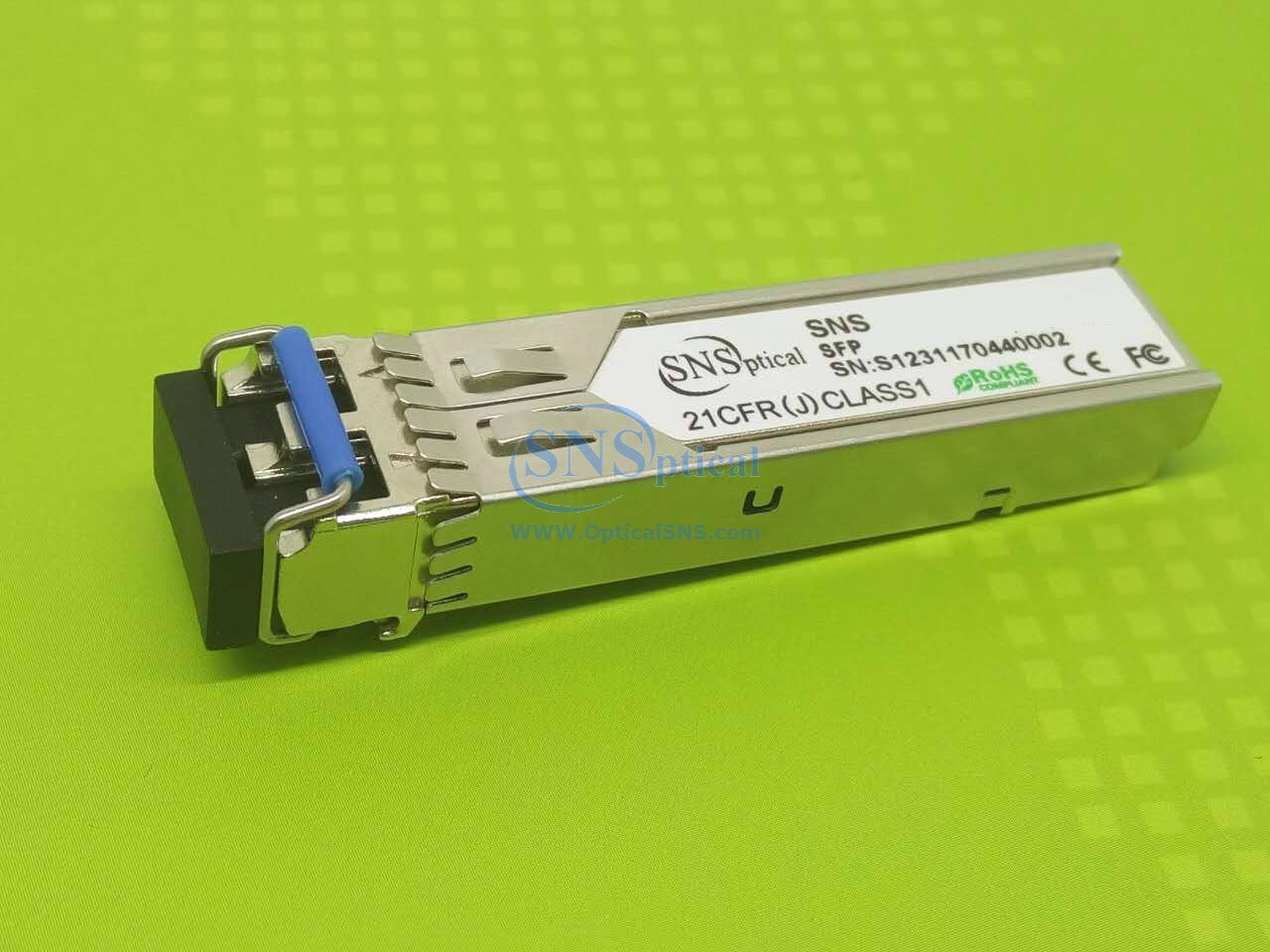 Optical SNS SNS TEG-MGBS40 Compatible with SFP with TRENDnet TEG-MGBS40 SFP Single-Mode LC Module, Connect with a standard SFP Slot, 1310nm Up to 40 Km (25 Miles)