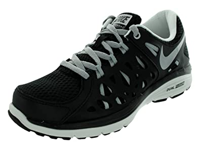 Nike Women's NIKE DUAL FUSION RUN 2 WMNS RUNNING SHOES 5.5 Women US (BLACK/