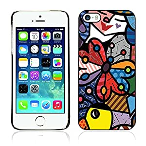 Graphic4You Art Drawing Design Hard Case Cover for Apple iPhone 5 & 5S