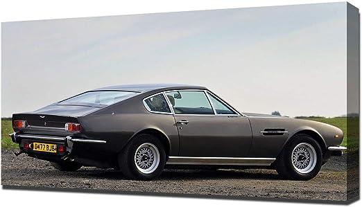 Amazon De Lilarama 1979 Aston Martin V8 Vantage V6 Art Leinwandbild Kunstdrucke Gemälde
