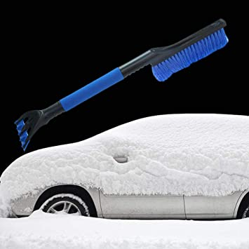 Car EVA Snow Shovel Ice Scraper Auto Windshield Cleaning Tool Car Snow Remover