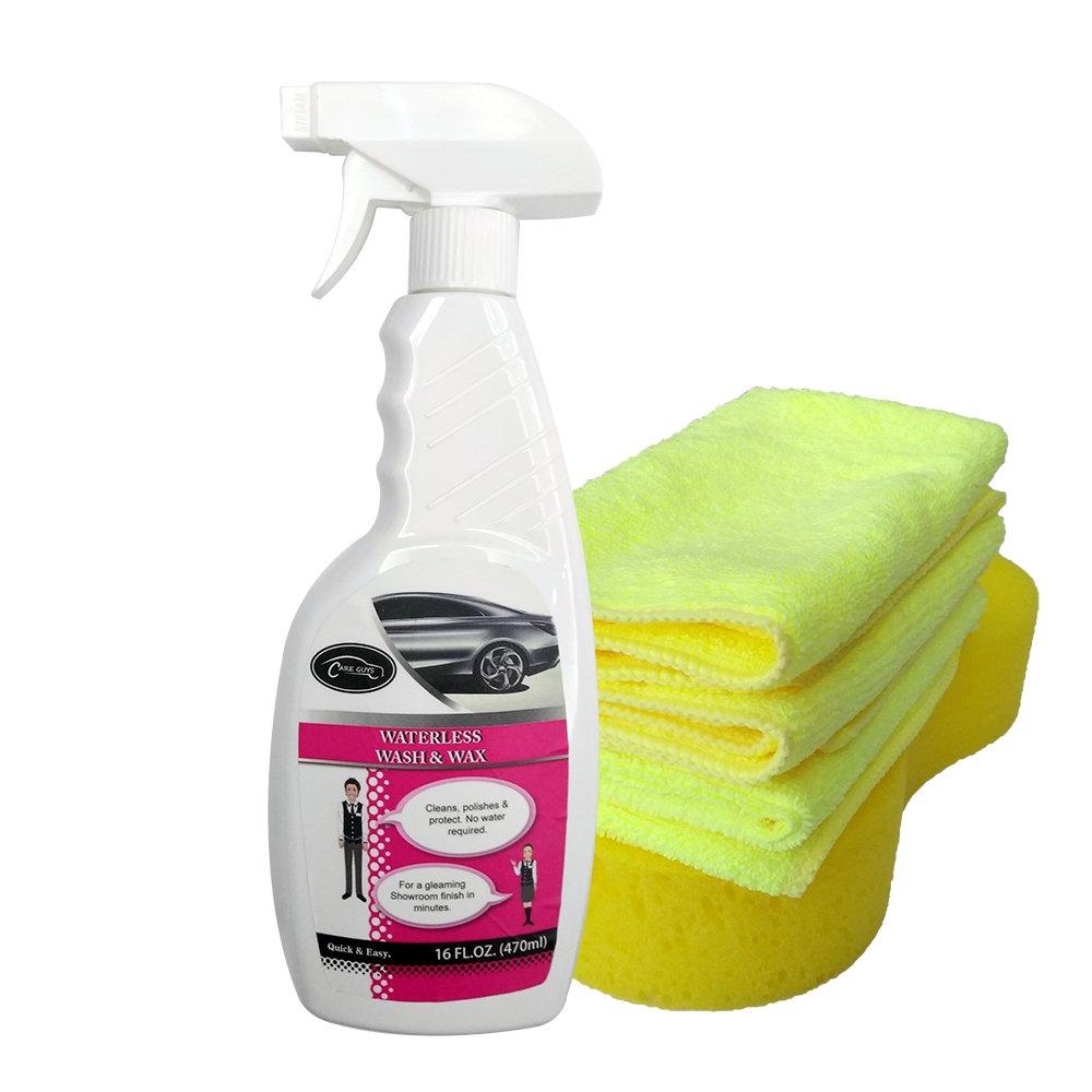 CARE GUYS Waterless Car Wash and Wax Kit-16 FL.OZ.