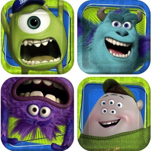 monster inc plate - 4