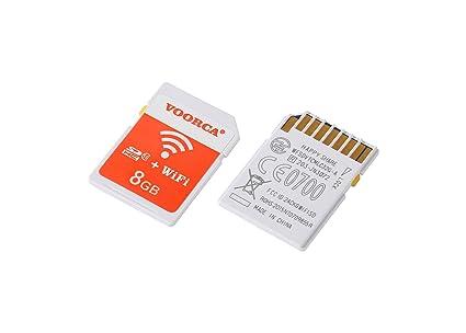 voorca SDHC de 8GB Clase 10 tarjeta de memoria SD Wi-Fi inalámbrico para todos los productos con ranura para tarjeta