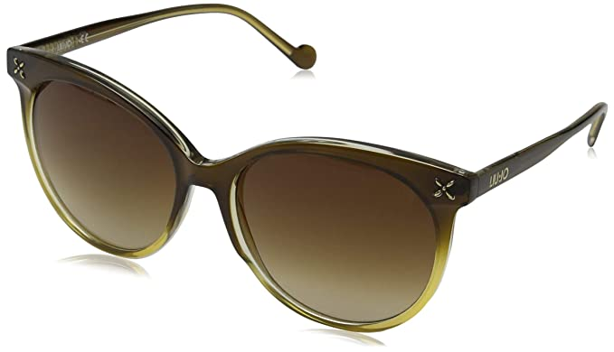 Liu Jo Lj681S 217 58, Gafas de Sol para Mujer, Brown/Honey ...