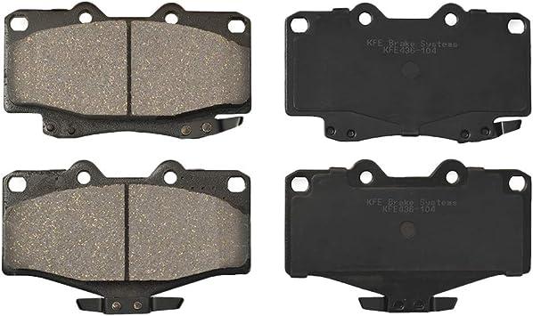 Premium Ceramic Disc Brake Pad FRONT Set For Toyota 4Runner Pickup Tacoma KFE436