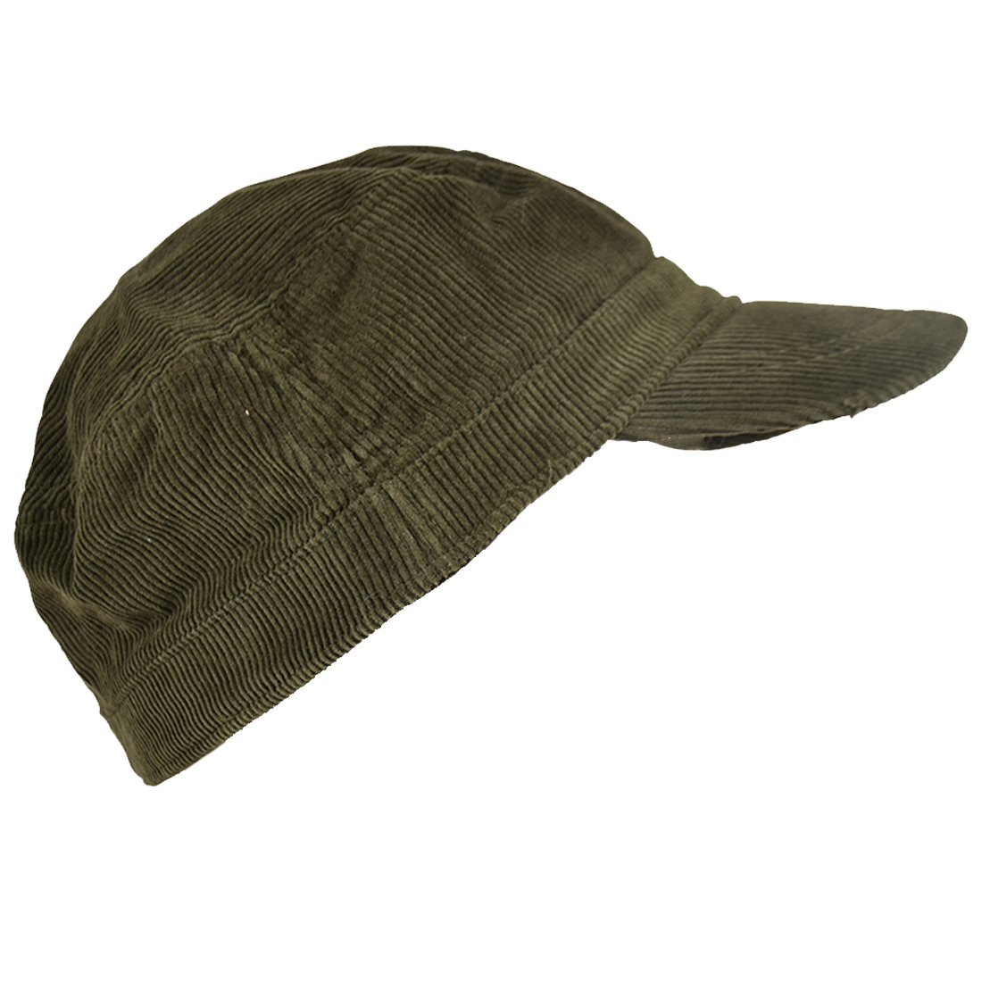 Landana Headscarves Corduroy Military Hat Olive Green Cadet Cap at Amazon  Men s Clothing store  4d57446ba6b