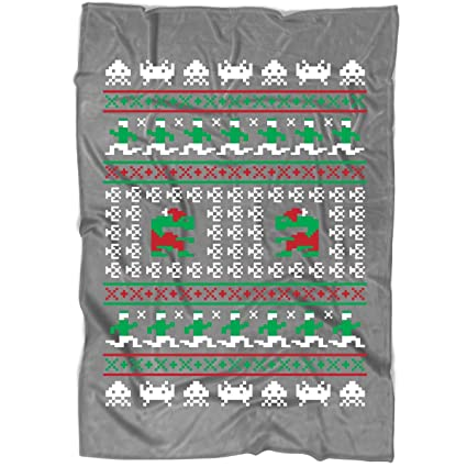 Christmas Blankets.Amazon Com Game For Christmas Blanket For Bed And Couch