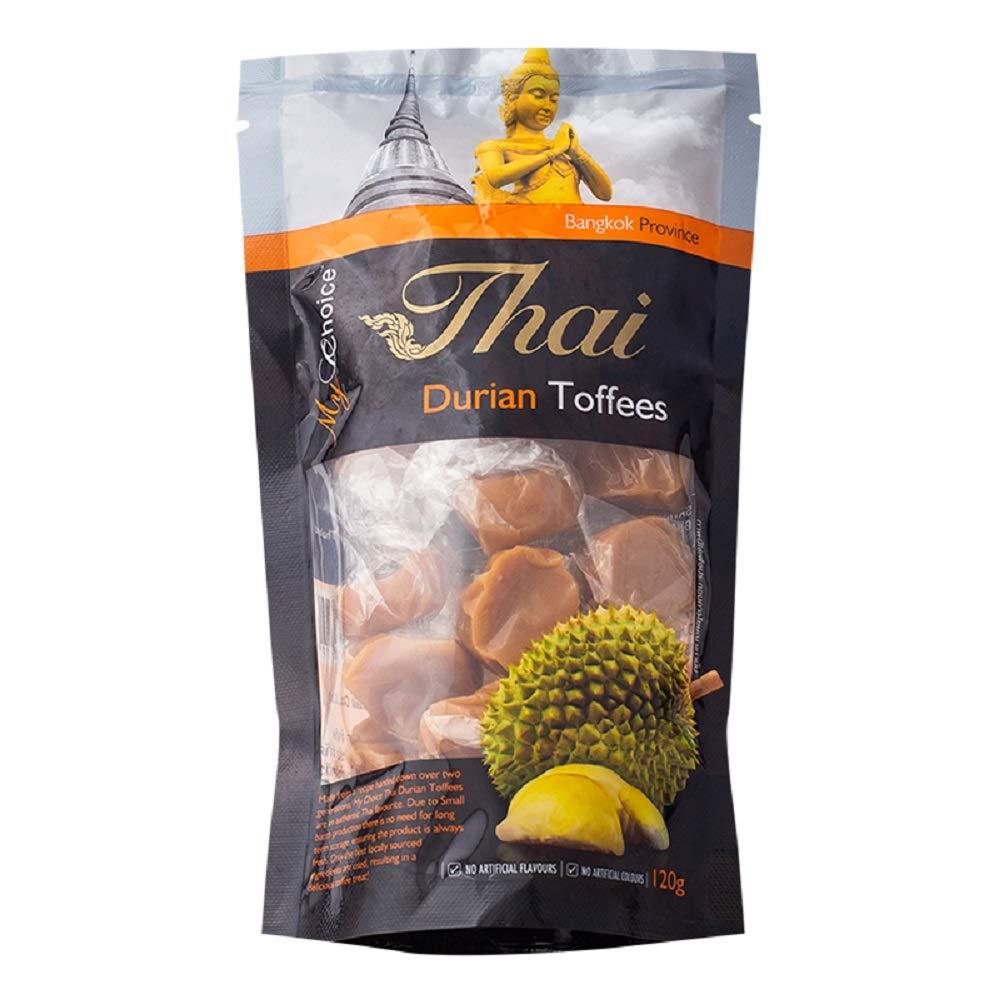 My Choice Thai Brand, Durain Toffees, Durain Candy 120g X 2 Packs