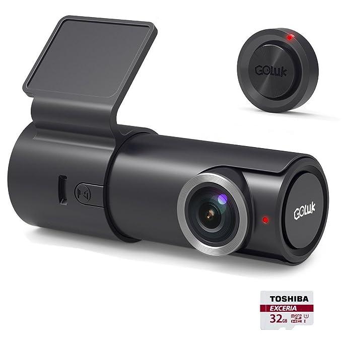 20 opinioni per Goluk T2 Telecamera per Auto, 1080P HD Wi-Fi Videocamera Auto Registratore Dash