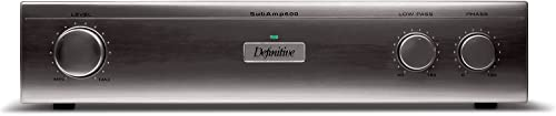 Definitive Technology in-Wall Subamp 600 120V Amplifier Single, Black