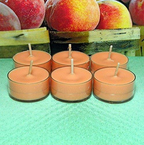 Pure Soy Tealights - Georgia Peach PURE SOY Tea Light Candles