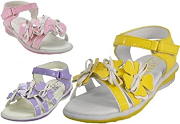 dac0dde5a3ef Wholesale Toddlers 3 Flower Top Sandals Colors  Yellow