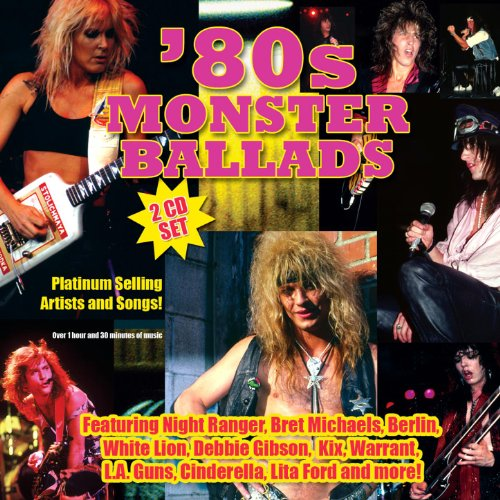 80s Monster Ballads (Best 80s Metal Bands)