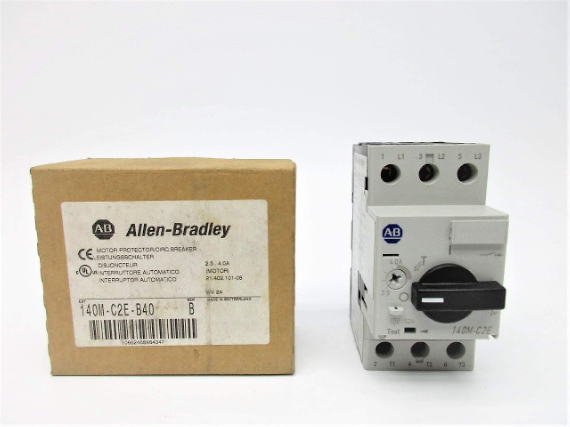 Allen Bradley 140M-C2E-B40 SER. B 2.5-4.0A (BR/WH) NSMP