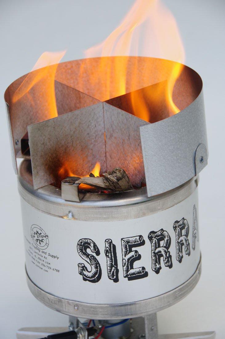 Amazon.com: Sierra Estufa Estufa de leña Burning Backpacking ...
