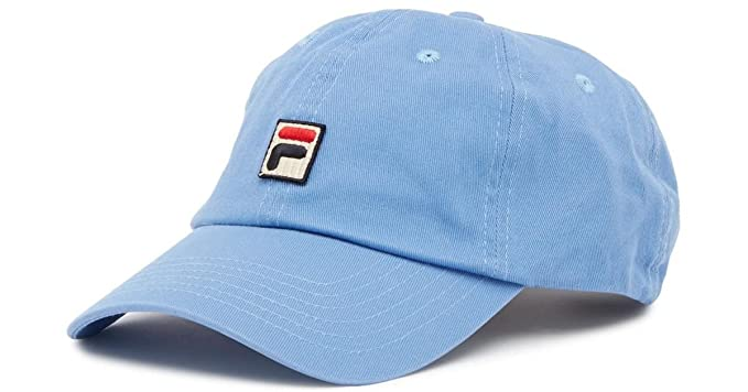 Fila Men s Heritage Adjustable Lake Blue Baseball Cap at Amazon ... 1cf53e17e0de