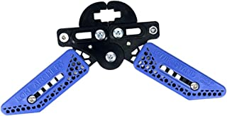 SGerste Repose arc ultra-léger, en mélange plastique, support pour tir à l'arc, rouge/bleu/jaune