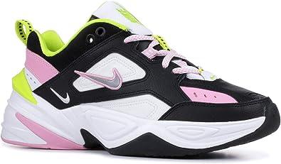 Nike Women's M2K Tekno Black/Metallic Silver/Pink Rose CI5772-001
