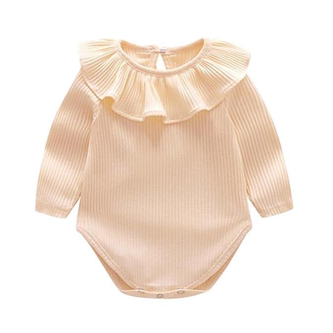 POLP Bebé Mameluco (◉ω◉) Recién Nacido Bebé Unisex Impresión Monos Conjuntos para