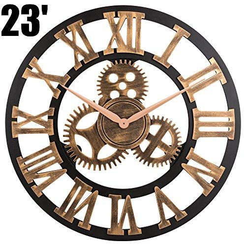 gears wall clock - 2
