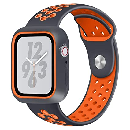 40aa7680f Amazon.com  Cywulin Compatible for Apple Watch Band 40mm 44mm