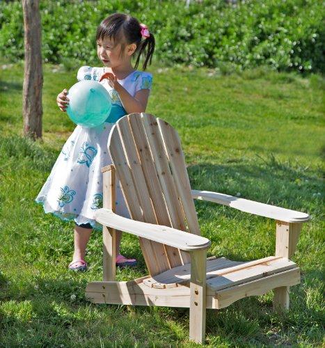 Merry Garden Adirondack Kids Chair, Wood