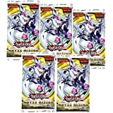 5 (Five) Pack Lot of Yu-Gi-Oh Cards Zexal - Abyss Rising Booster (YuGiOh! 5 Pack Lot)