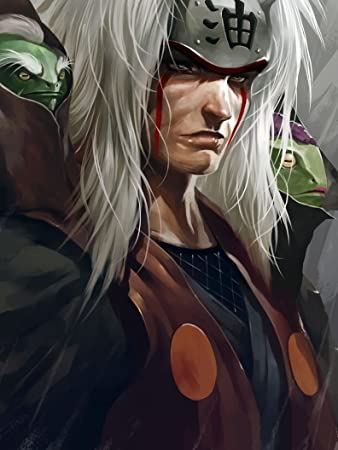 Amazoncom Xxw Artwork Naruto Jiraiya Poster Uzumaki Naruto