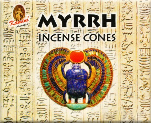 - Myrrh Kamini Incense Cones by Kamini