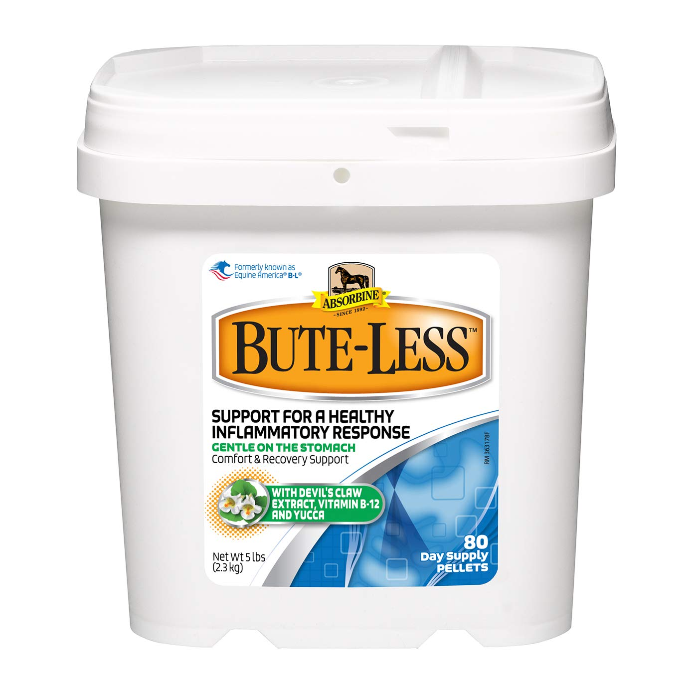 Absorbine W F Young 430422 5 lb Bute Less Pellets by Absorbine