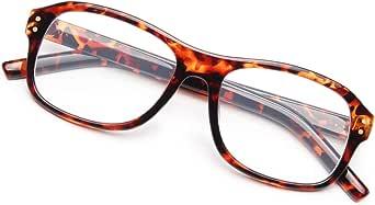CHEERS Blue Light Blocking Reading Glasses for Men Women, Computer Readers Anti Glare UV400 Customize Prescription (CD8083)