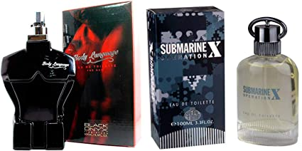 Perfumes Pack Sensual para Hombre. Submarine X 100ml + Body Language Red 100 ML.