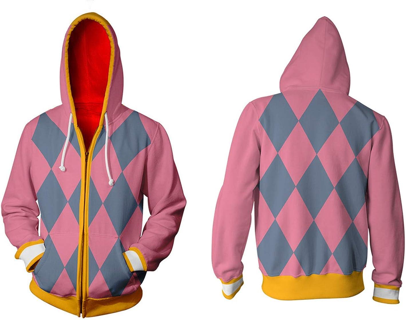 Adonis Pigou Anime Cosplay Hoodies Sweatshirt Hooded Jackets Tops Coats Costume