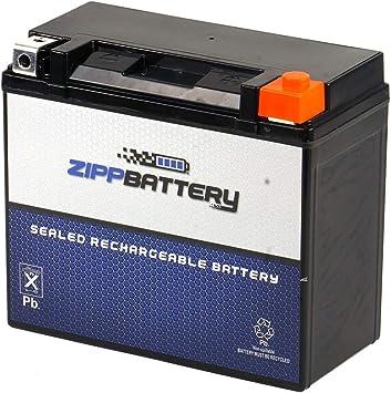 Chrome Battery 20L-BS YTX20L-BS