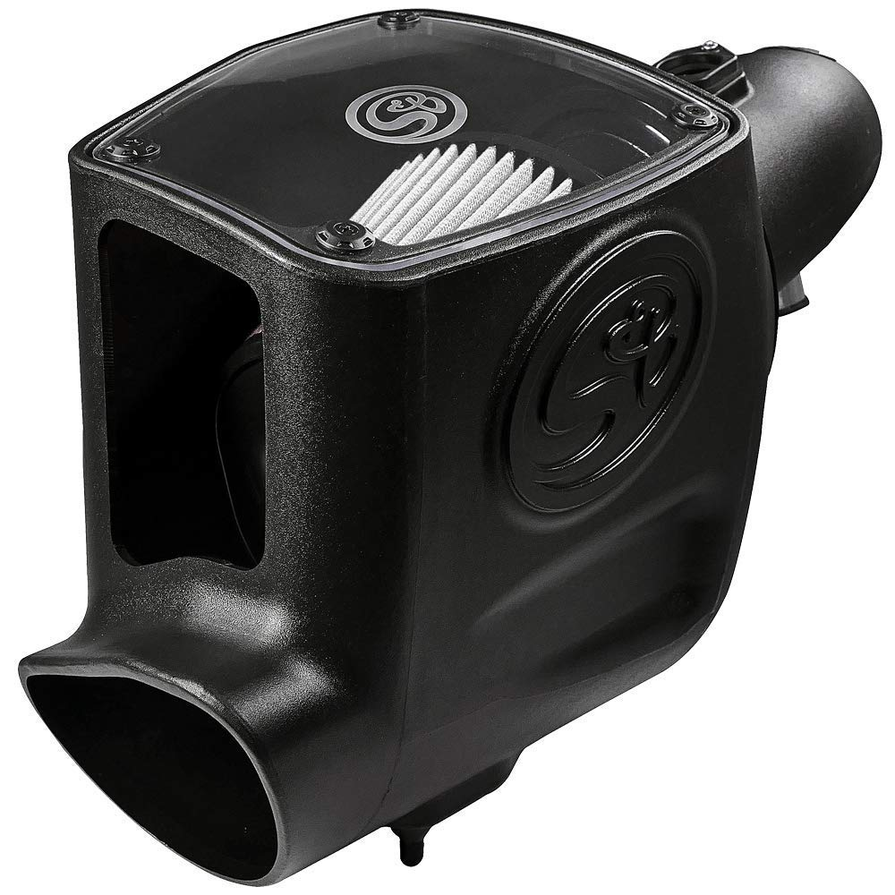 Cotton Cleanable Filter S/&B Filters 75-5105 Cold Air Intake for 2008-2010 Ford Powerstroke 6.4L