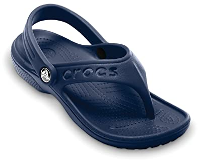 bdb63bbf9 Crocs Junior Baya Summer Flip Navy Flip And Thong Toddler Sandals  12066-410-131