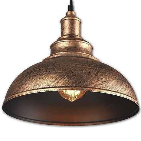 fltrade iluminación de la Industria metal Vintage lámpara de pantalla LED Lámpara colgante Edison la Industria iluminación de hierro Botella calabaza ...
