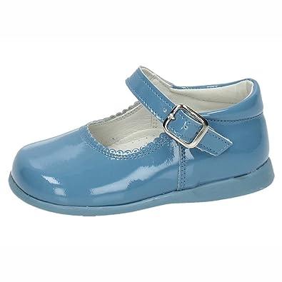 BAMBINELLI , Mädchen Mary Jane Halbschuhe , blau - blau - Größe: 20